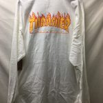 Vans X Thrasher White Checker Long Sleeve