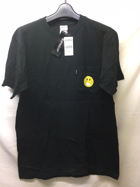 ripndip everything`ll be ok black pocket tee