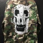 RIPNDIP Nerm Skull Camo Army Jacket