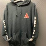 HUF x Spitfire Triangle Black Hoodie