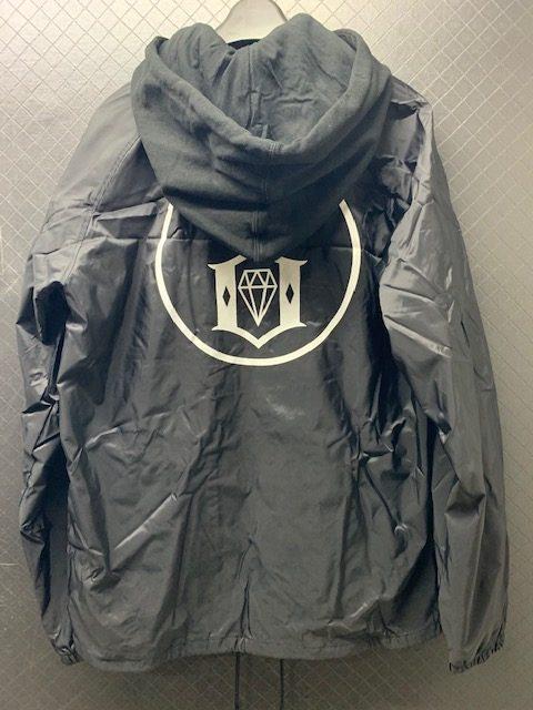 rebel8Eternal Logo Hooded Coaches Jacket